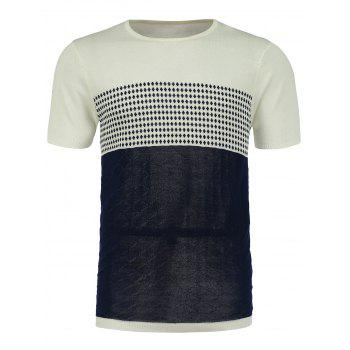 Short Sleeve Graphic Jumper