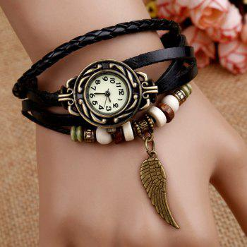 Angel Wing Vintage Braid Bracelet Watch