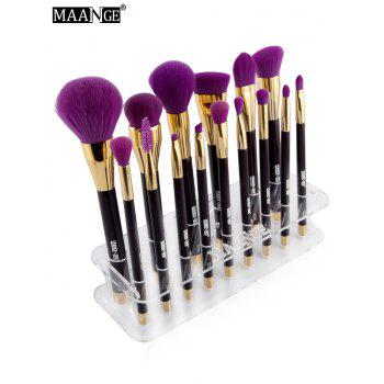 MAANG support des brosse de maquillages - Transparent