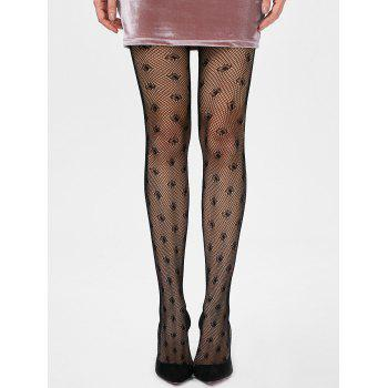 Fishnet See Through Tights - BLACK ONE SIZE