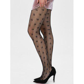 Fishnet See Through Tights - ONE SIZE ONE SIZE