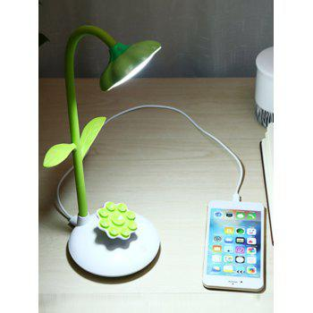 Rotating Rechargeable LED Sunflower Shape Table Lamp