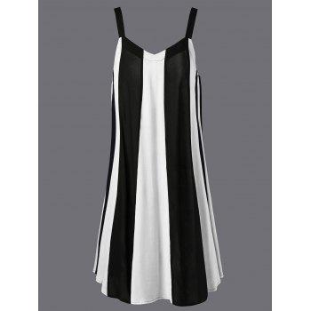 Swing Striped Casual Daytime Dress Boutique