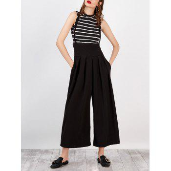 High Rise Suspender Scrub Pants