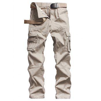 Zipper Multi Pockets Design Cargo Pants