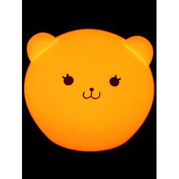Best Gift Color Change USB Cartoon LED Nightlight -  WHITE