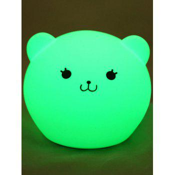 Best Gift Color Change USB Cartoon LED Nightlight - WHITE WHITE