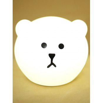 Color Changeable USB Cartoon Silica Gel LED Nightlight