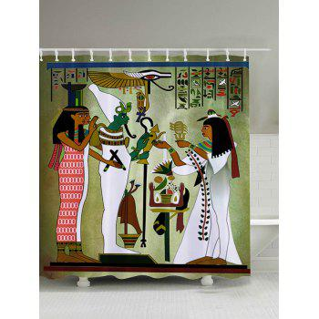 Mural Art Tribal Bathroom Shower Curtain