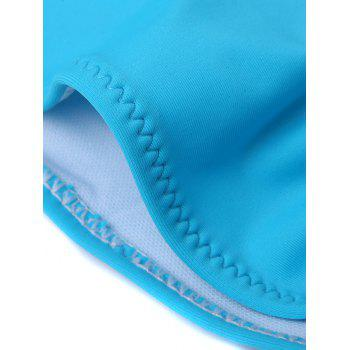 Candy Color Low Waist Briefs - LIGHT BLUE M
