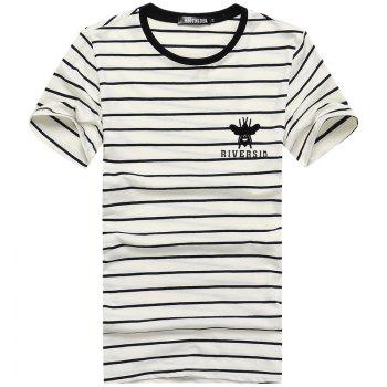 Insect Applique Stripes Tee