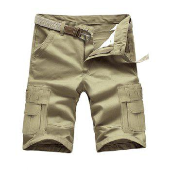 Multi Pockets Design Cargo Shorts