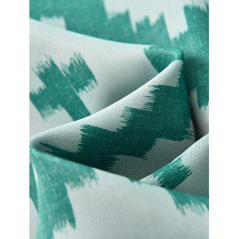 Shading Fenêtre Blackout Curtain Pour Living Room - Turquoise W41 INCH*L95 INCH