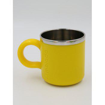 Melado Safety Stainless Steel Baby Water Cup - YELLOW YELLOW