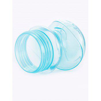Melado Double Handles Baby Feeding Straw Drinking Bottle - BLUE