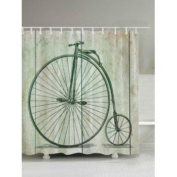 Penny Farthing Bicycle Shower Curtain