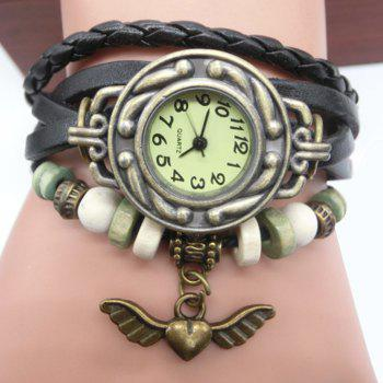 Heart Wings Vintage Bracelet Watch
