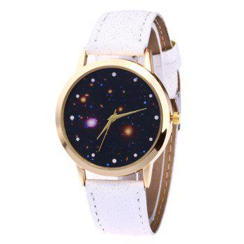 Faux Leather Starry Night Watch