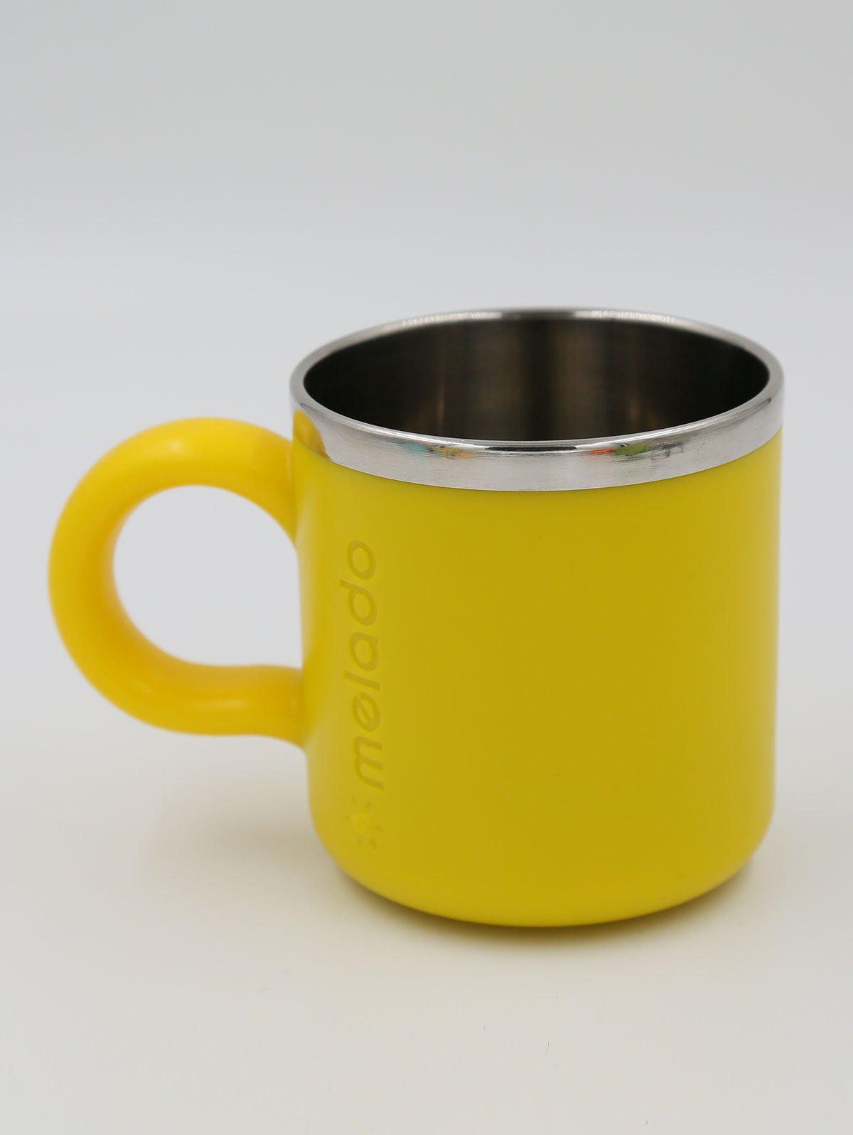 Melado Safety Stainless Steel Baby Water Cup - YELLOW