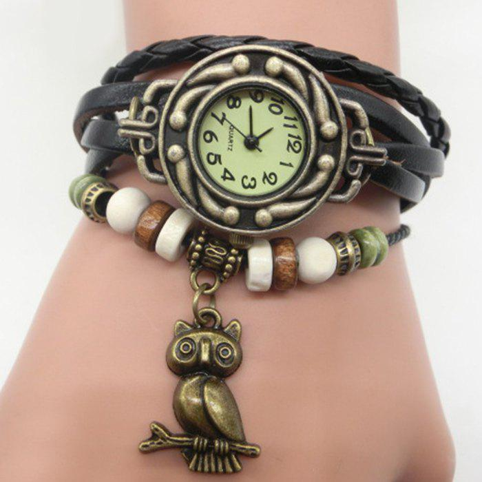 Owl Number Vintage Bracelet Watch ethiopian defence force and the acheivement of the national security