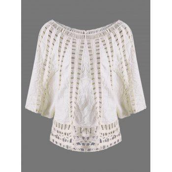 Cutwork Insert Blouse