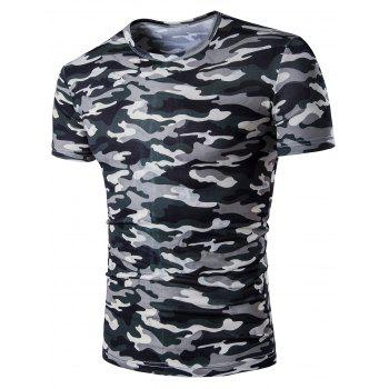 Camouflage Short Sleeve T-Shirt