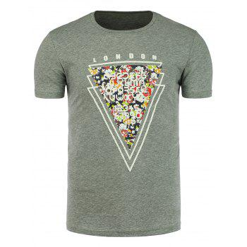 London Graphic Slim Fit T-Shirt