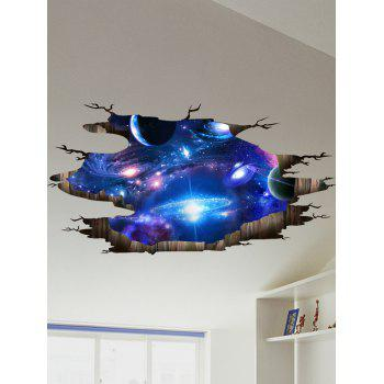 Motif Galaxy 3D Stickers muraux