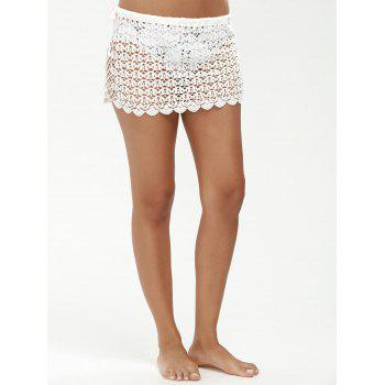 See Through Sarong Crochet Swim Skirt Cover Ups