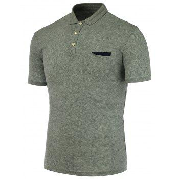 Pocket Front Polo Shirt