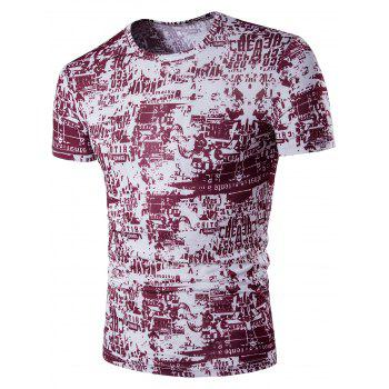 All Over Graphic Print T-Shirt