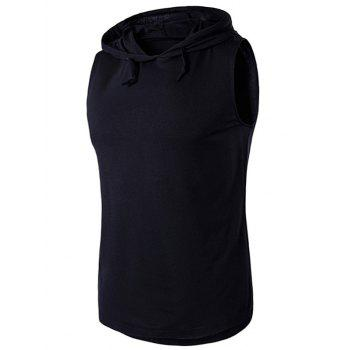 Sleeveless Hooded T-Shirt