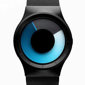 Alloy Strap Vortex Ombre Watch - BLUE