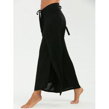 Multipurpose Pantalon large avec Lace Up