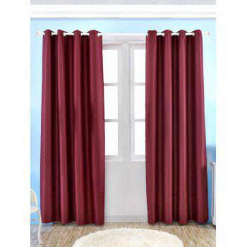 Thermal Insulated Blackout Curtain Pour Living Room