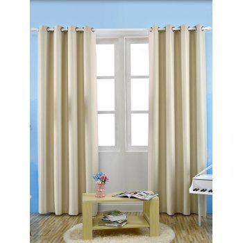 Thermal Insulated Blackout Curtain For Living Room - PALOMINO W57 INCH*L96 INCH