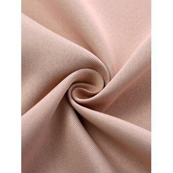 Thermal Insulated Blackout Curtain Pour Living Room - ROSE PÂLE W39 INCH*L98 INCH