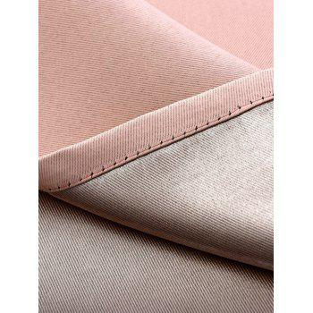 Thermal Insulated Blackout Curtain Pour Living Room - ROSE PÂLE W57 INCH*L96 INCH