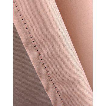 Thermal Insulated Blackout Curtain For Living Room - PINK W57 INCH*L96 INCH