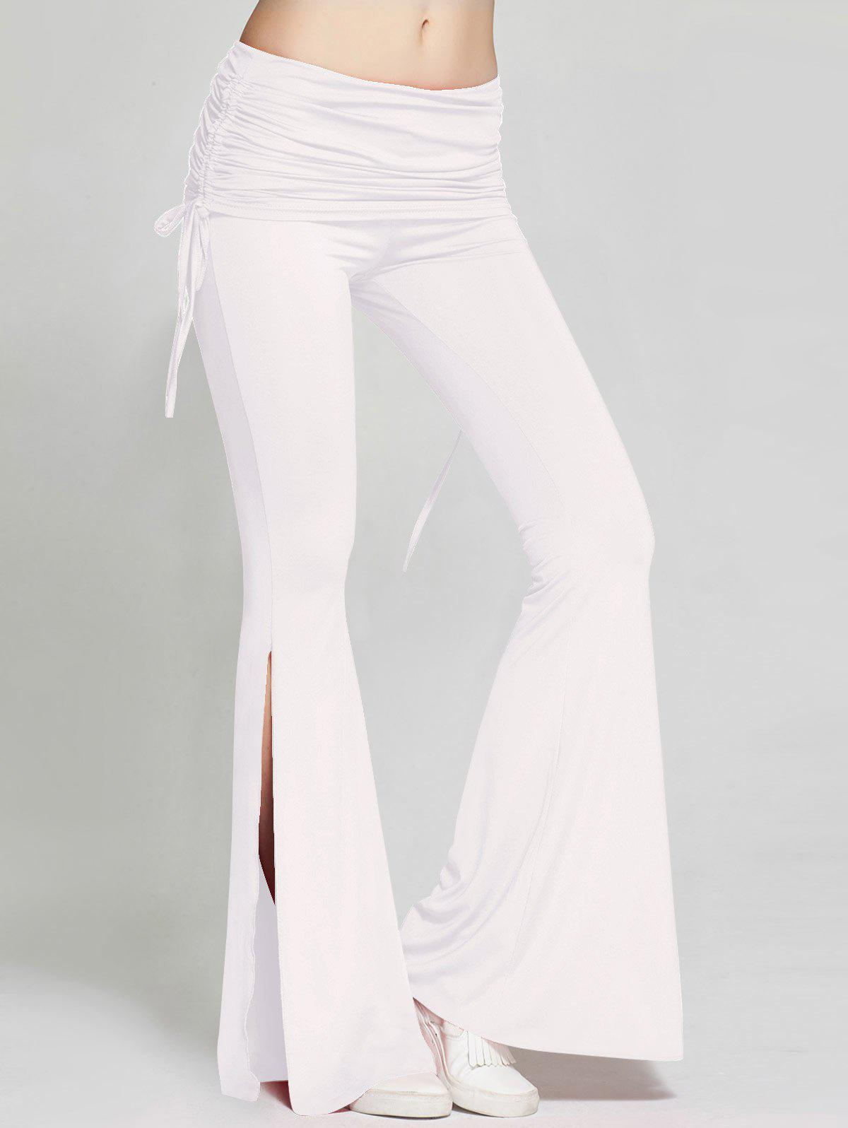High Slit Flare Bell Bottom Yoga Pants games la lista della spesa