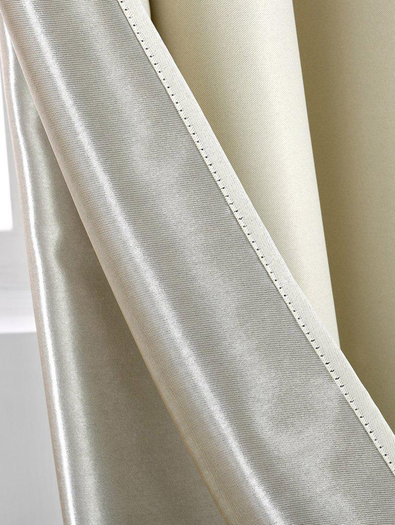 Thermal Insulated Blackout Curtain Pour Living Room - Palomino W57 INCH*L69 INCH