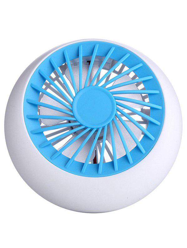 Home Office Big Wind USB Fan Mini Desk - Bleu