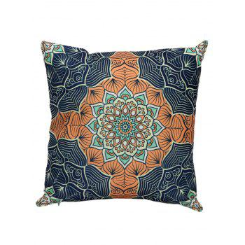Ethnic Printed Linen Cushion Cover Pillow Case