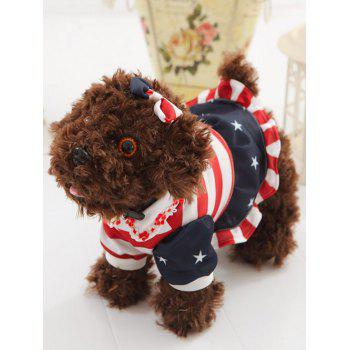 Dressed Star Peter Pan Collar Bowknot Teddy Dog Toy