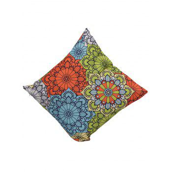 Ethnic Floral Cushion Cover Throw Pillowcase - COLORMIX 45*45CM