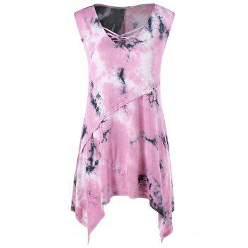 Tie-Dyed Asymmetric Top