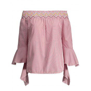 Off The Shoulder Bell Sleeves Top