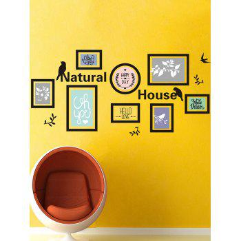 Waterproof Natural House Print Photo Wall Sticker