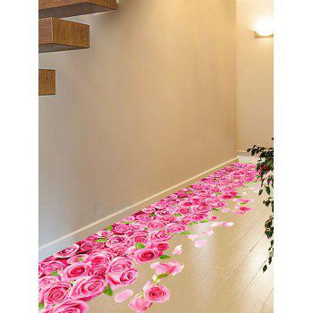 3D Blooming Rose Interior Removable Wall Sticker