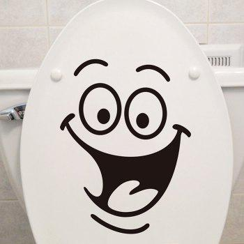 Smile Face Wall Art Sticker